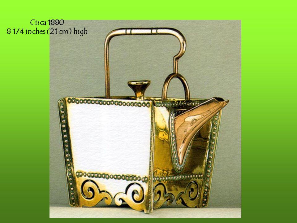 Circa 1880 8 1/4 inches (21 cm) high