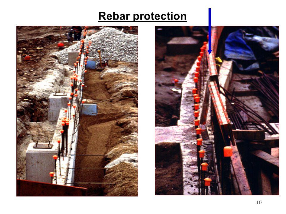 10 Rebar protection