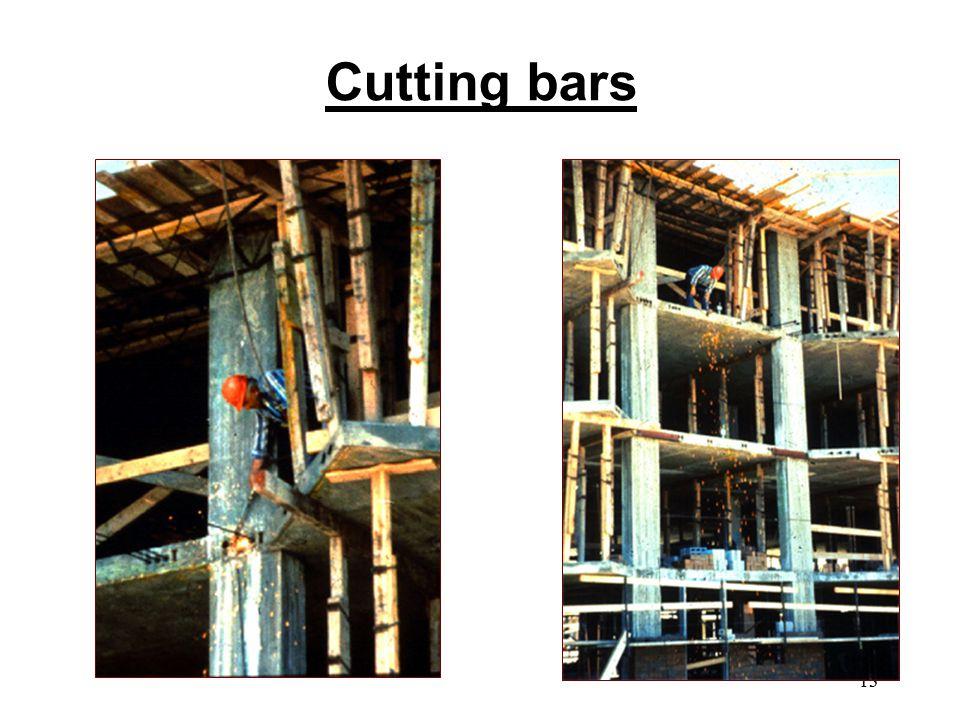 13 Cutting bars