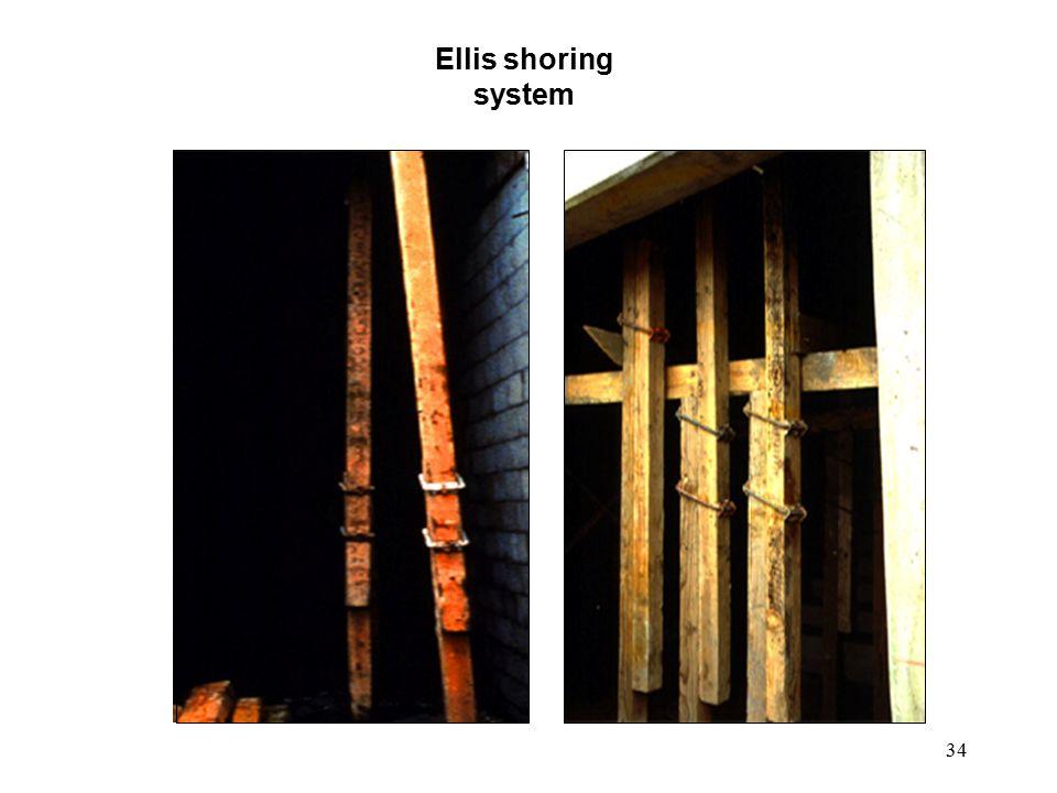 34 Ellis shoring system