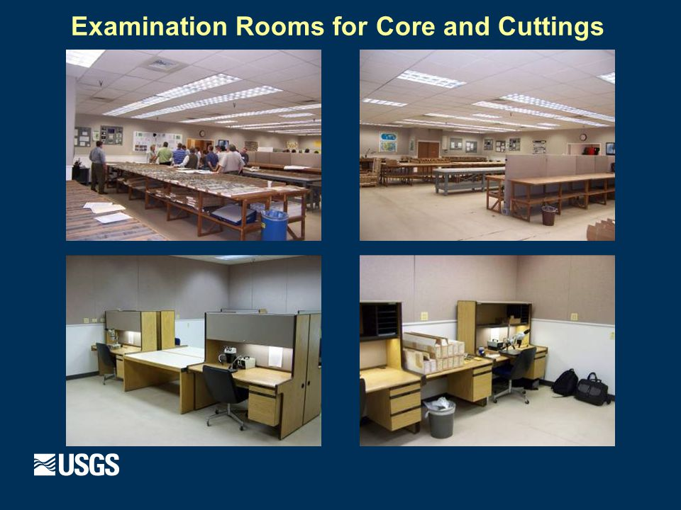 Examination Rooms for Core and Cuttings