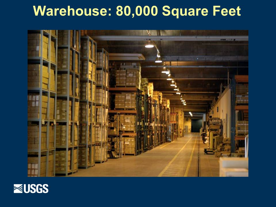 Warehouse: 80,000 Square Feet