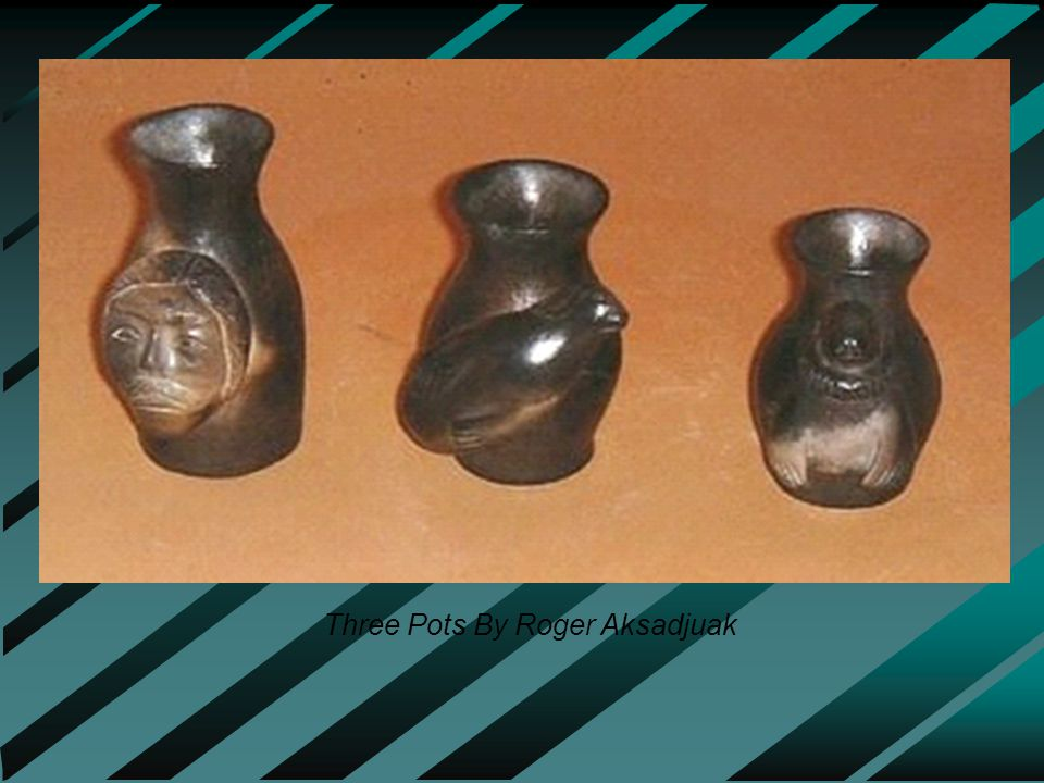 Three Pots By Roger Aksadjuak