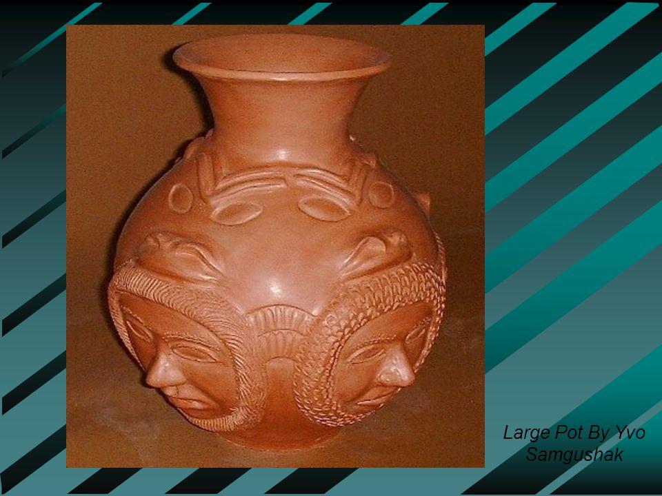 Large Pot By Yvo Samgushak