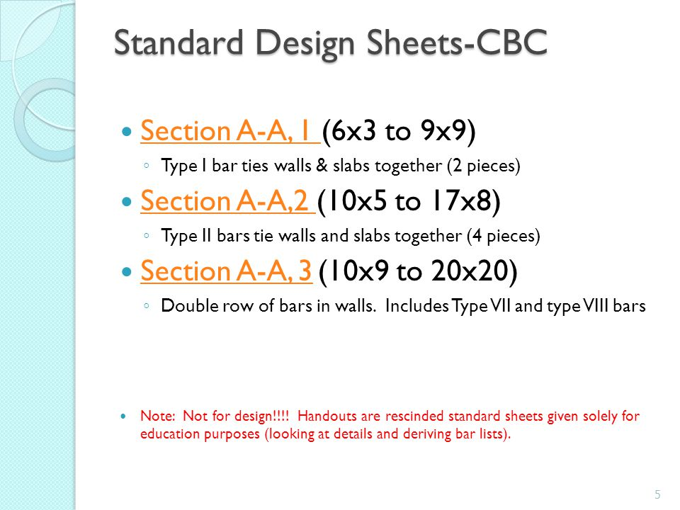 Steel Bars-Miscellaneous Minimum cover on non-prestressed steel (ACI 318) ◦ Cast against or permanently exposed to earth 3 ◦ Exposed to earth or weather  #5 and smaller 1-1/2  #6 and larger 2 Minimum cover is also shown on Handouts.