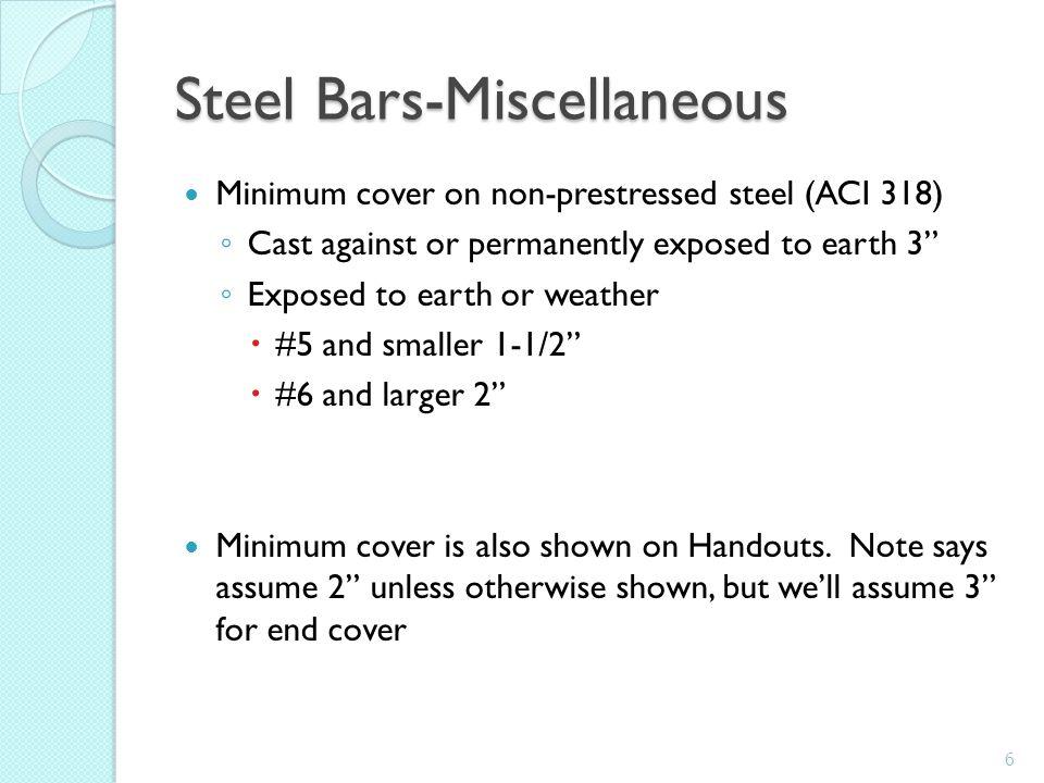 Determine Concrete Volume Top Slab Top Haunches Side Walls Bottom Slabs Bottom Haunches Volume=82 CY Don't subtract steel volume Discuss staging 17