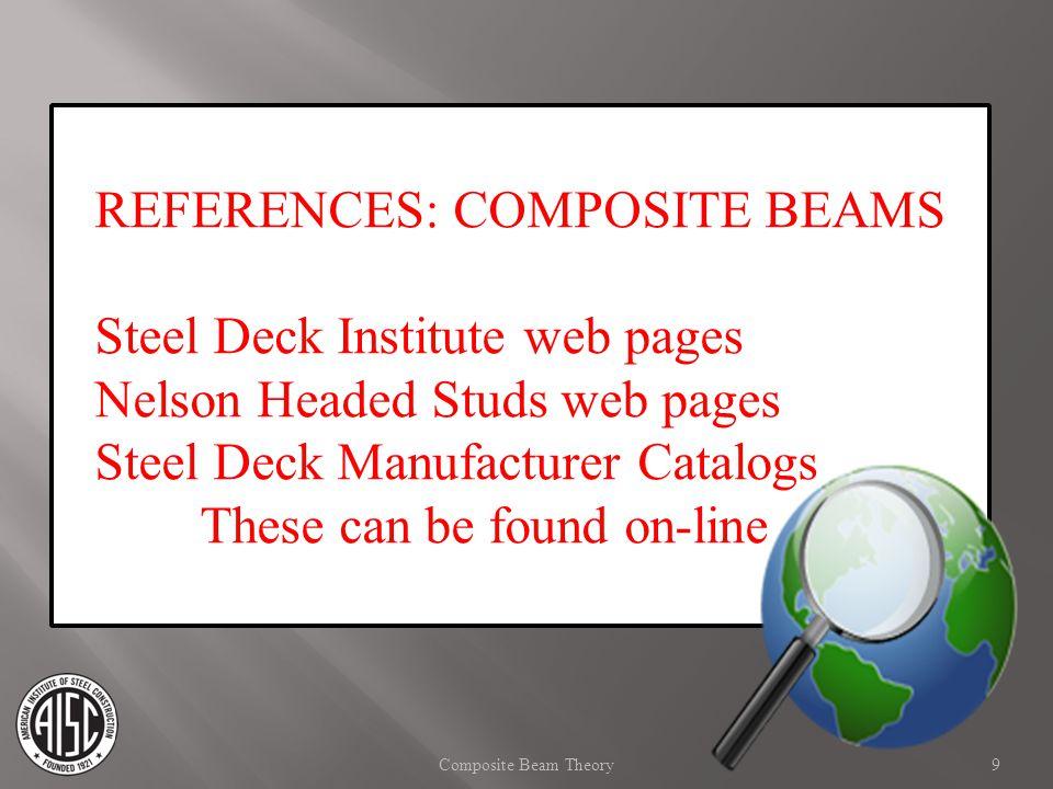 Slab/Deck Span Girder Column Beam 10Composite Beam Theory Typical Framing PLAN