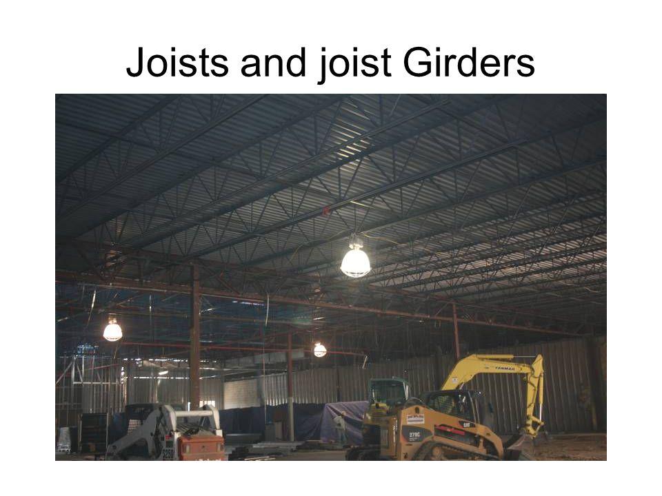 Joists and joist Girders