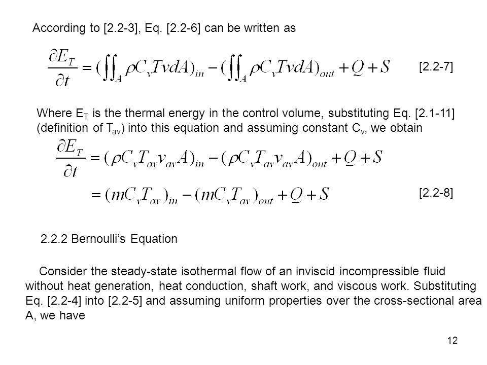 12 According to [2.2-3], Eq.