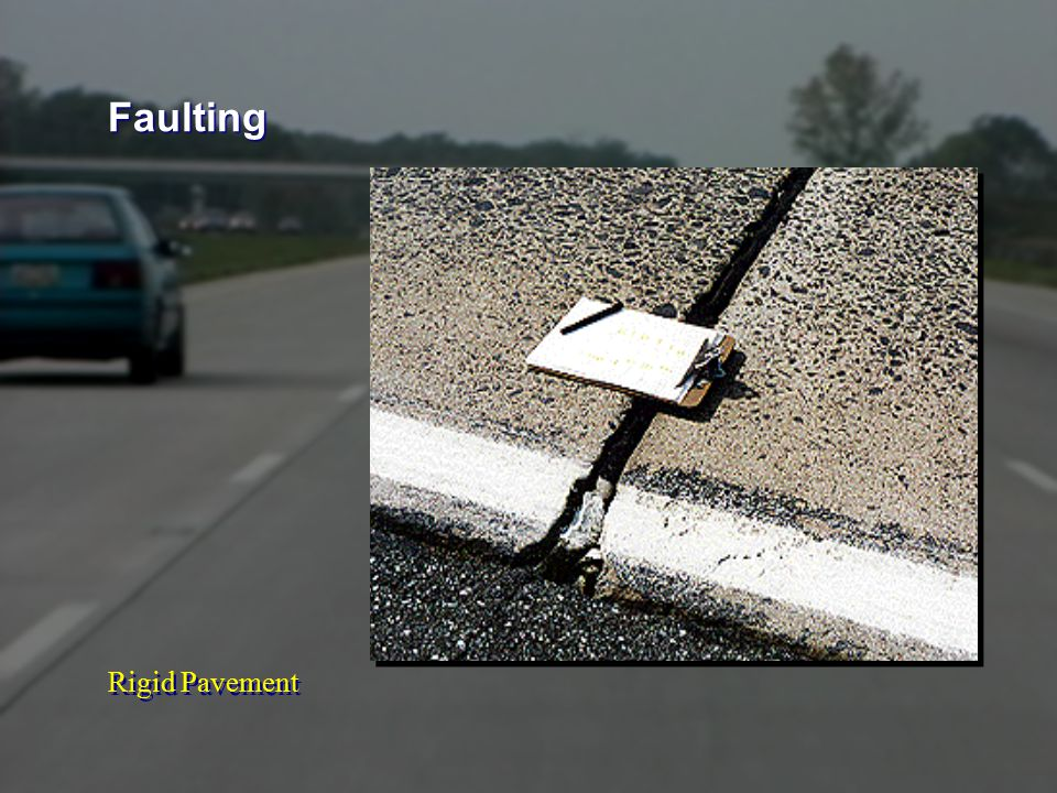 Rigid Pavement Faulting