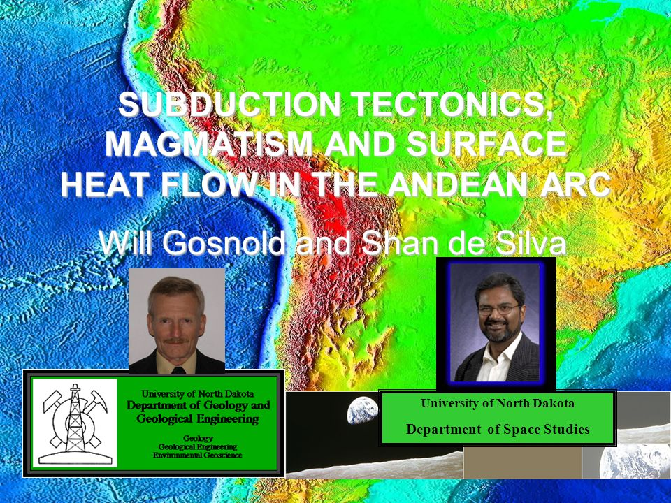 Overview Objectives Tectonic history Tectonic models Thermal evolution BDT and ignimbrite flareups HFD data Data treatment Characteristics of each HFD profile