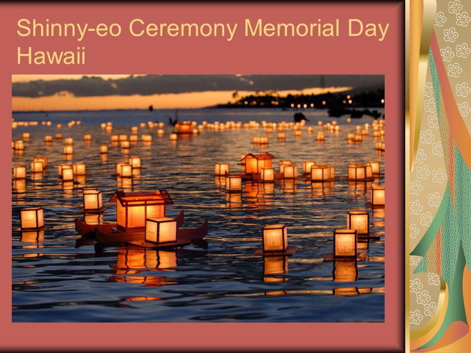 Shinny-eo Ceremony Memorial Day Hawaii