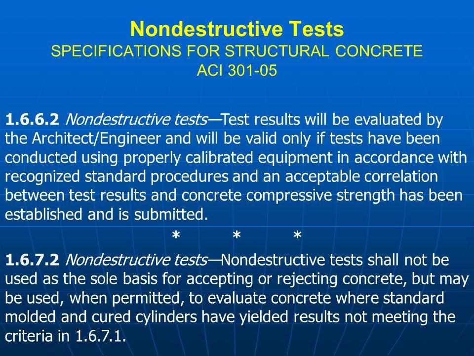 Impact - Echo Testing ASTM C1383 T=C p /2*f C p =T*2*f