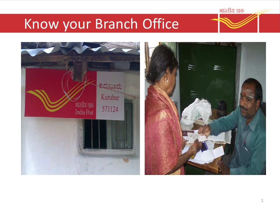 Know your Branch Office 1