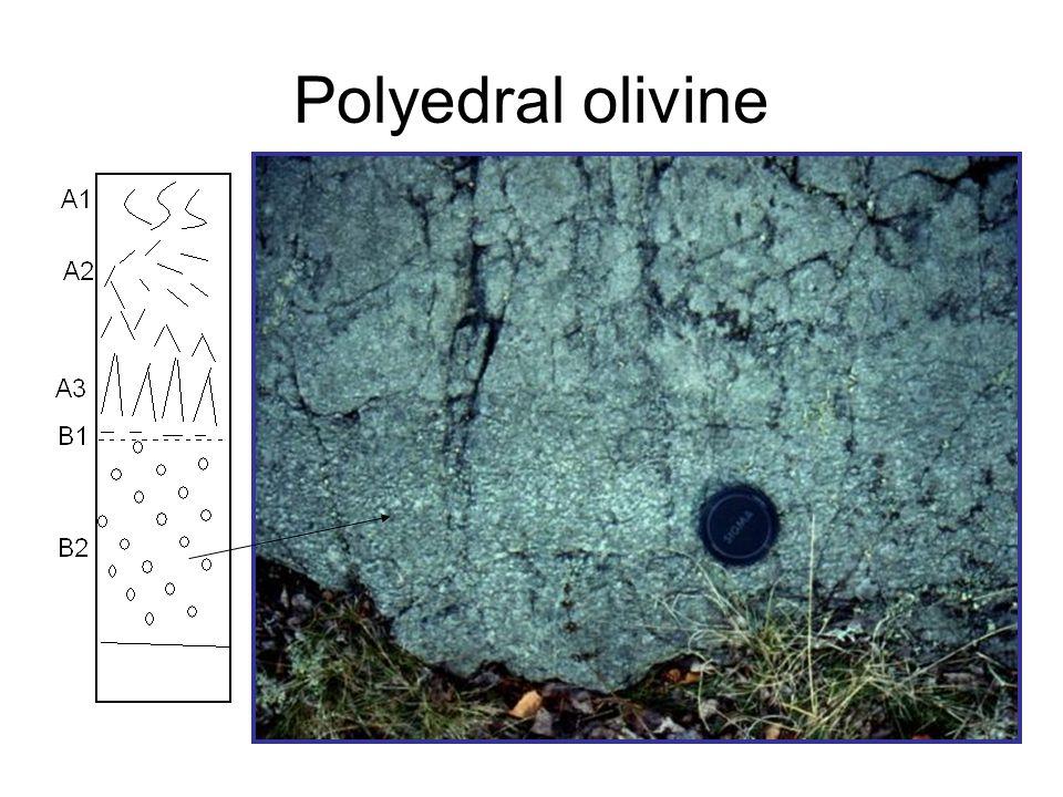 Polyedral olivine
