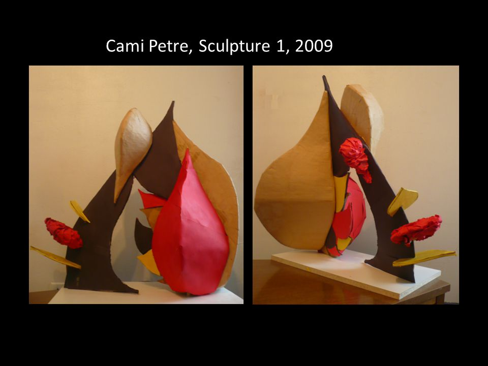 Cami Petre, Sculpture 1, 2009