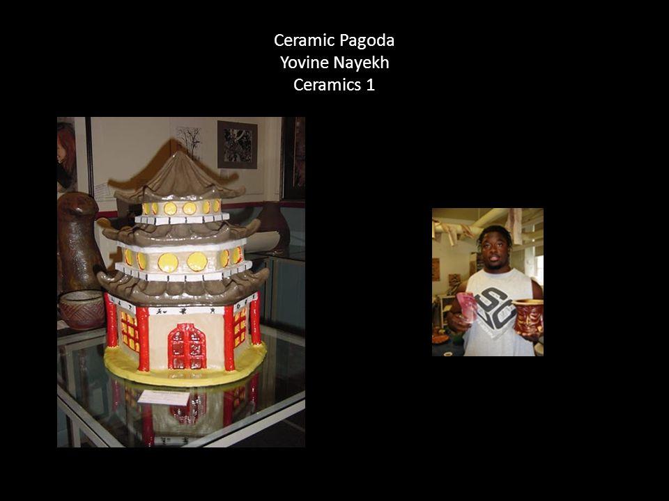 Ceramic Pagoda Yovine Nayekh Ceramics 1