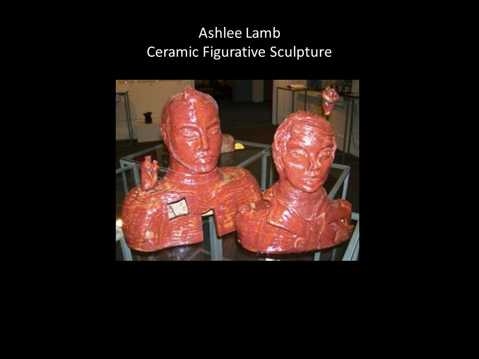 Ashlee Lamb Ceramic Figurative Sculpture