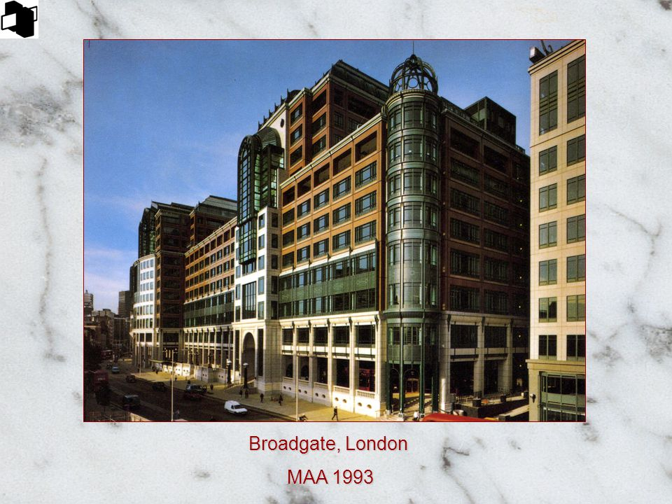 Broadgate, London MAA 1993