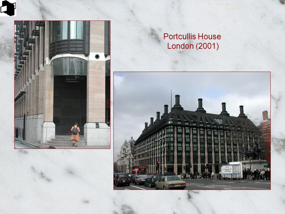 Portcullis House London (2001)