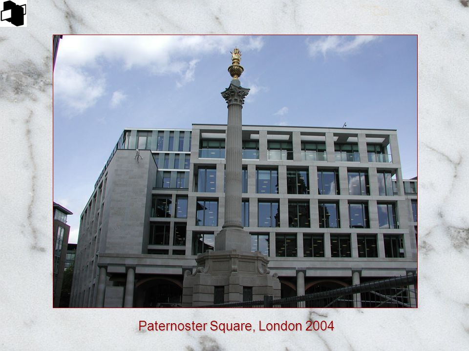 Paternoster Square, London 2004