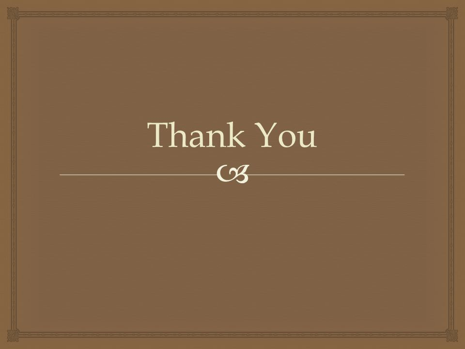  Thank You