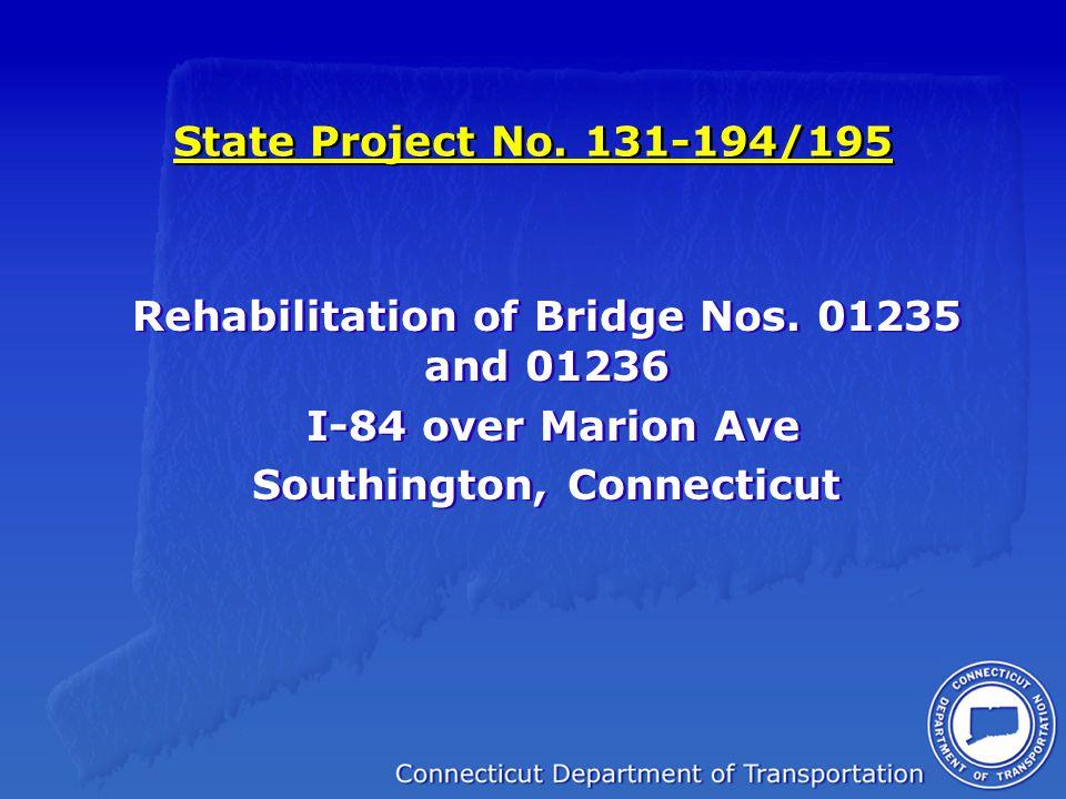 Bridge 01235 EB Bridge 01236 WB
