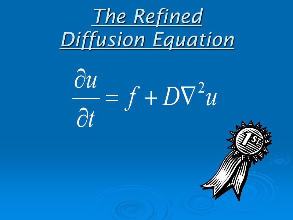 The Refined Diffusion Equation