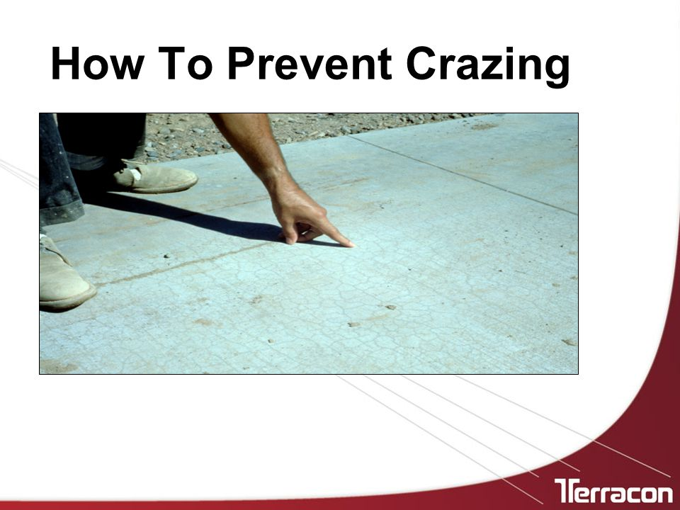 How To Prevent Crazing