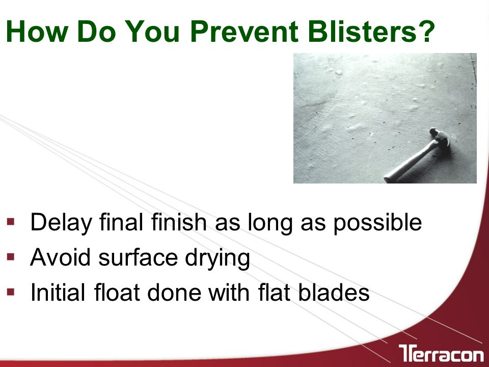 How Do You Prevent Blisters.