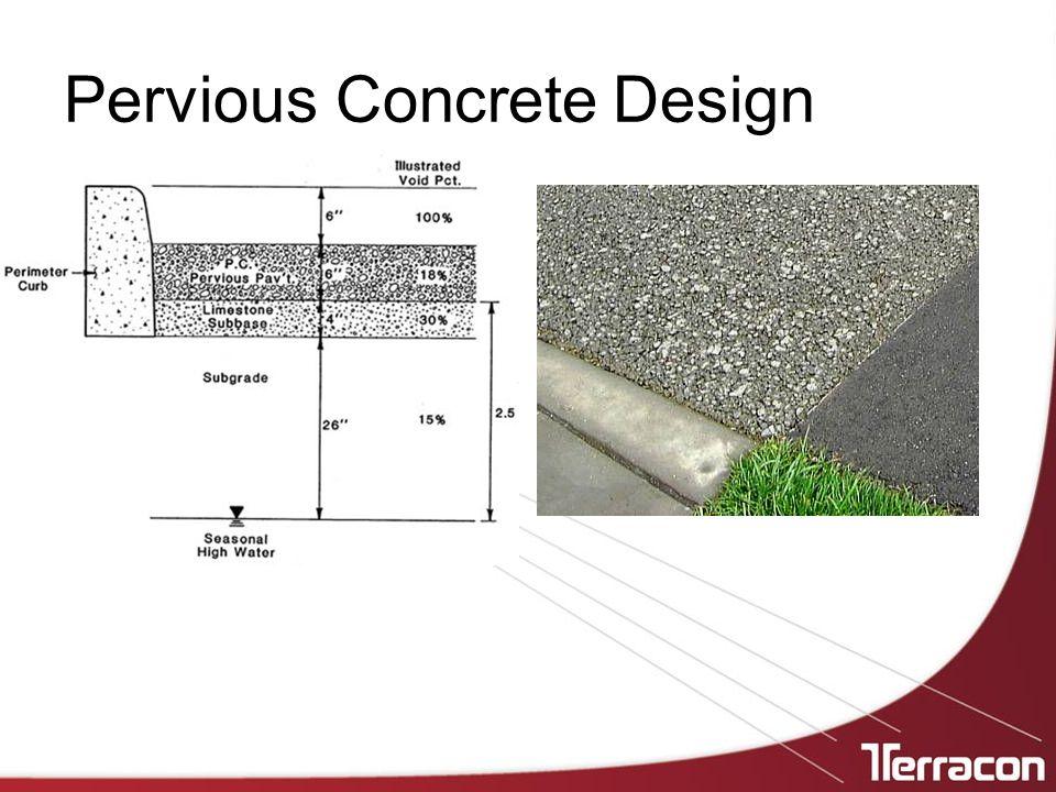 Pervious Concrete Design