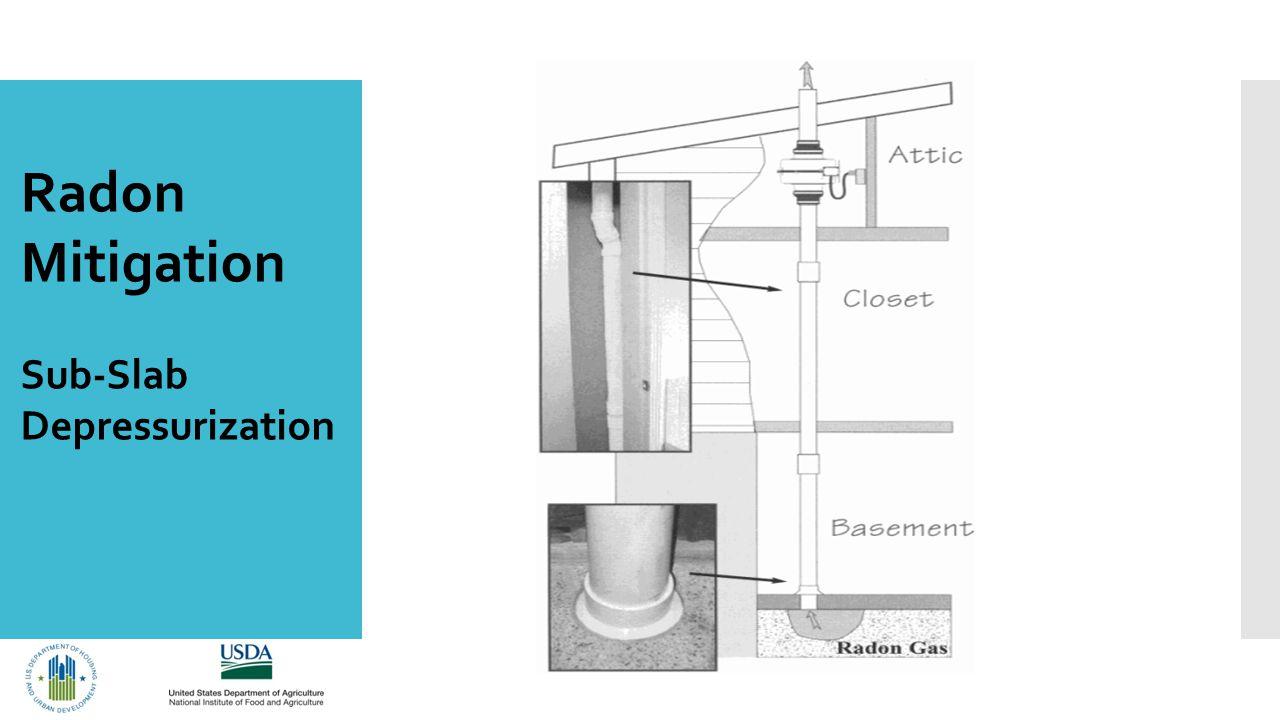 Radon Mitigation Sub-Slab Depressurization