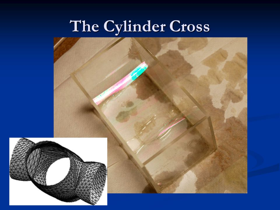 The Cylinder Cross