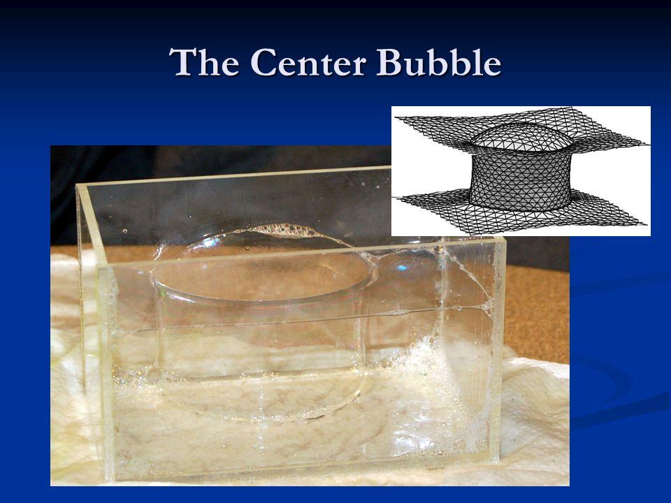 The Center Bubble