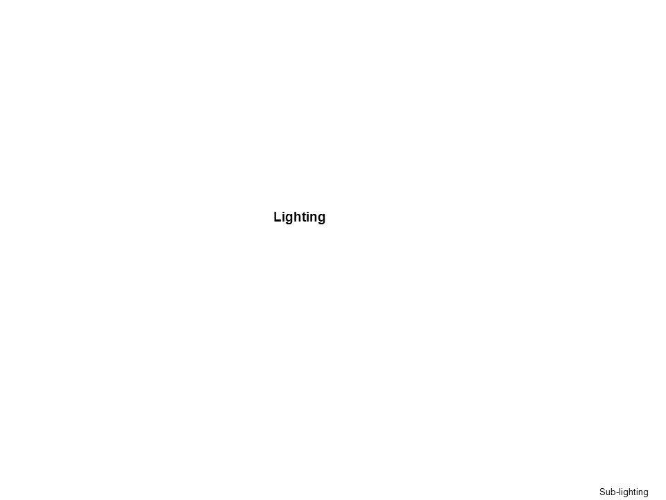 Sub-lighting Lighting