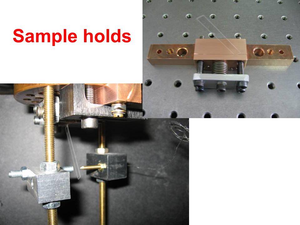 Sample holds