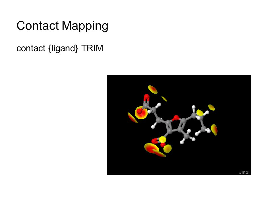 Contact Mapping contact {ligand} TRIM