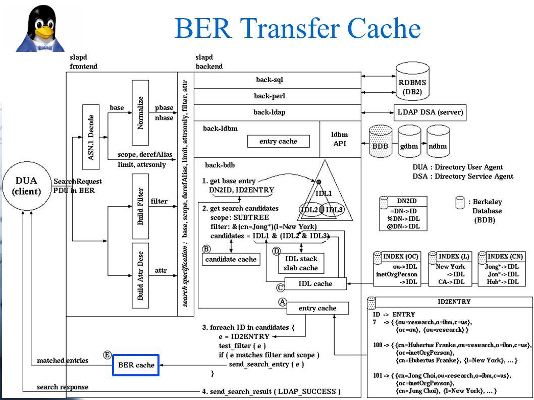 BER Transfer Cache