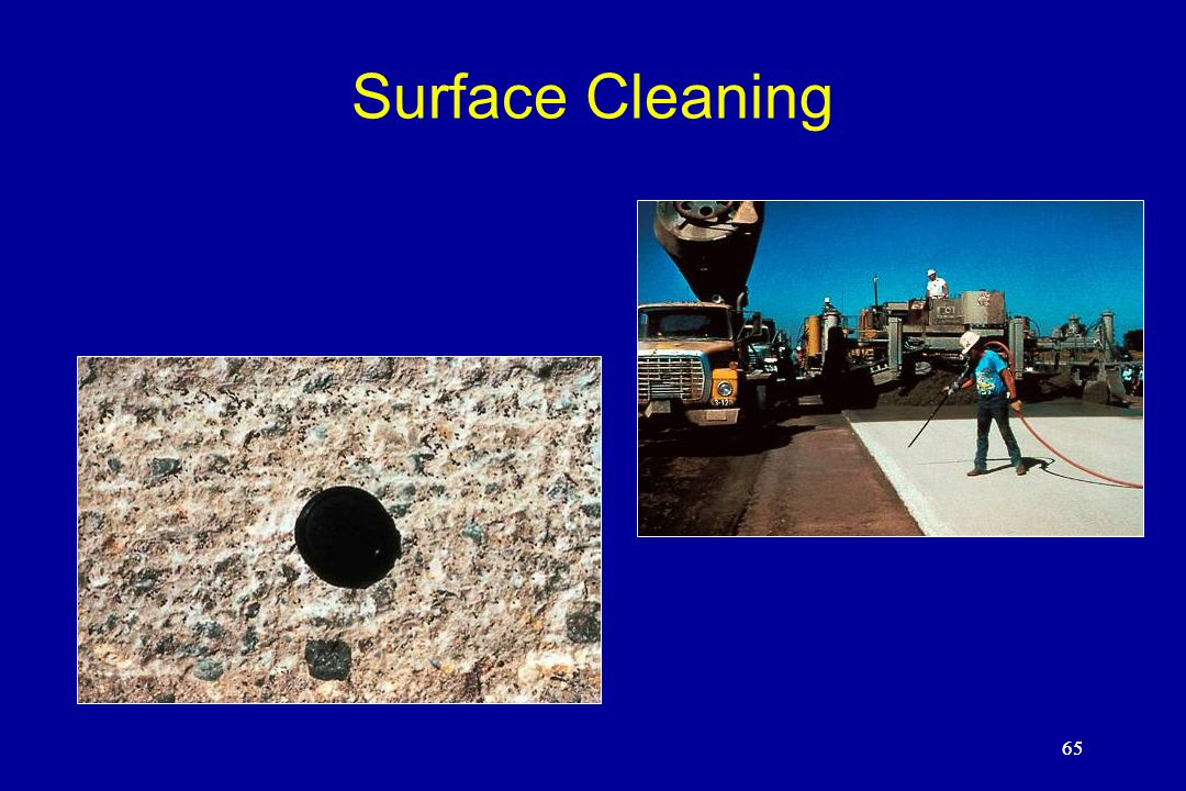65 Surface Cleaning 65