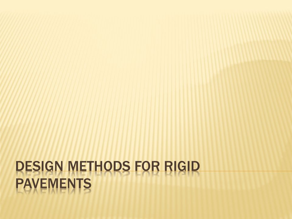  The design methods are classified to three main groups as follows:  1.