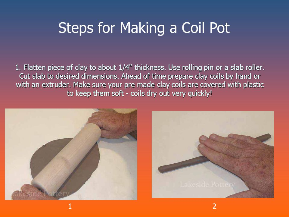 2.Score and slip slab and lay the first layer of coil.