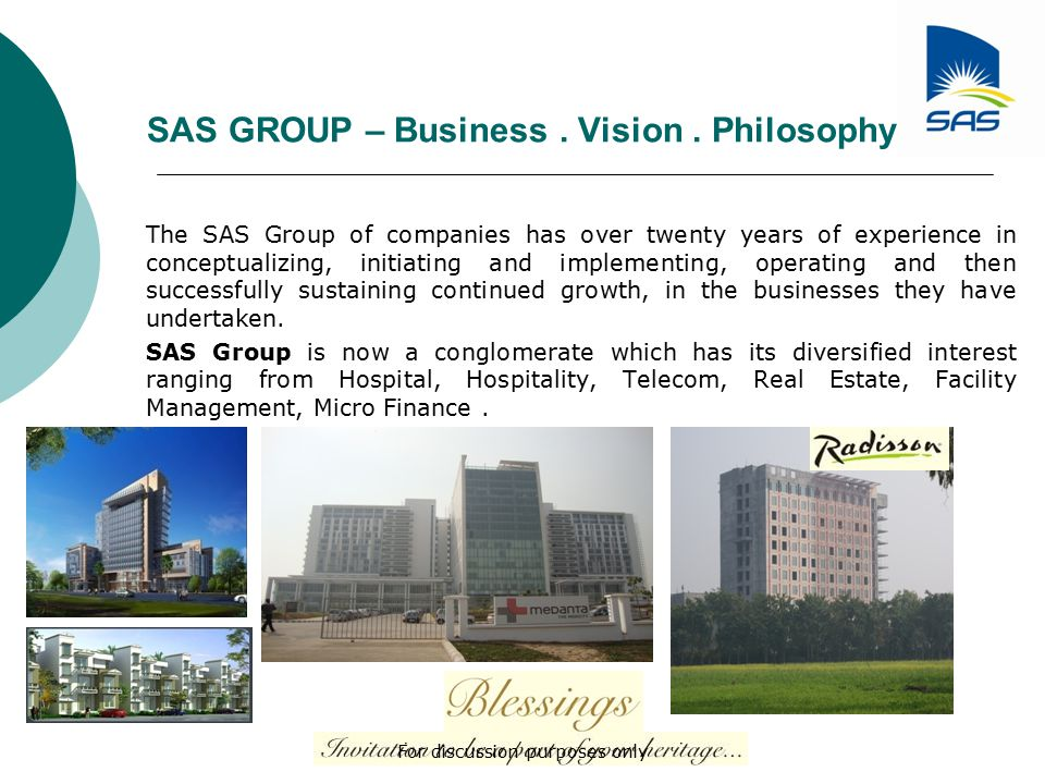SAS GROUP – Business.Vision.