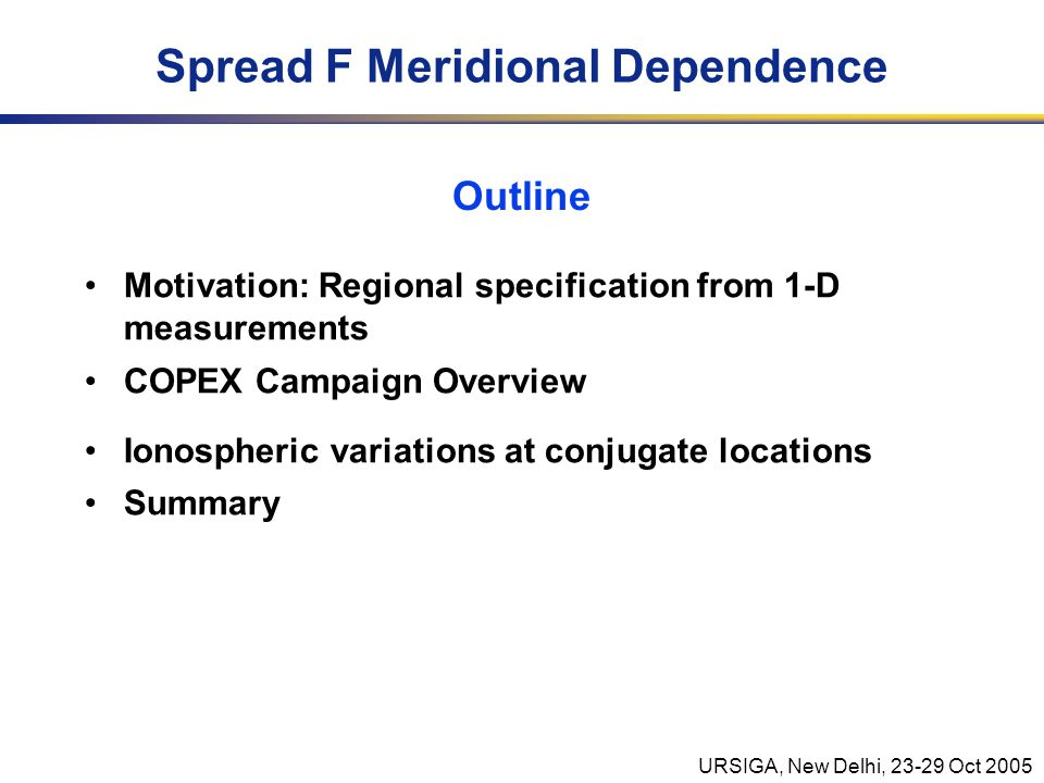 URSIGA, New Delhi, 23-29 Oct 2005 What About Scintillation.