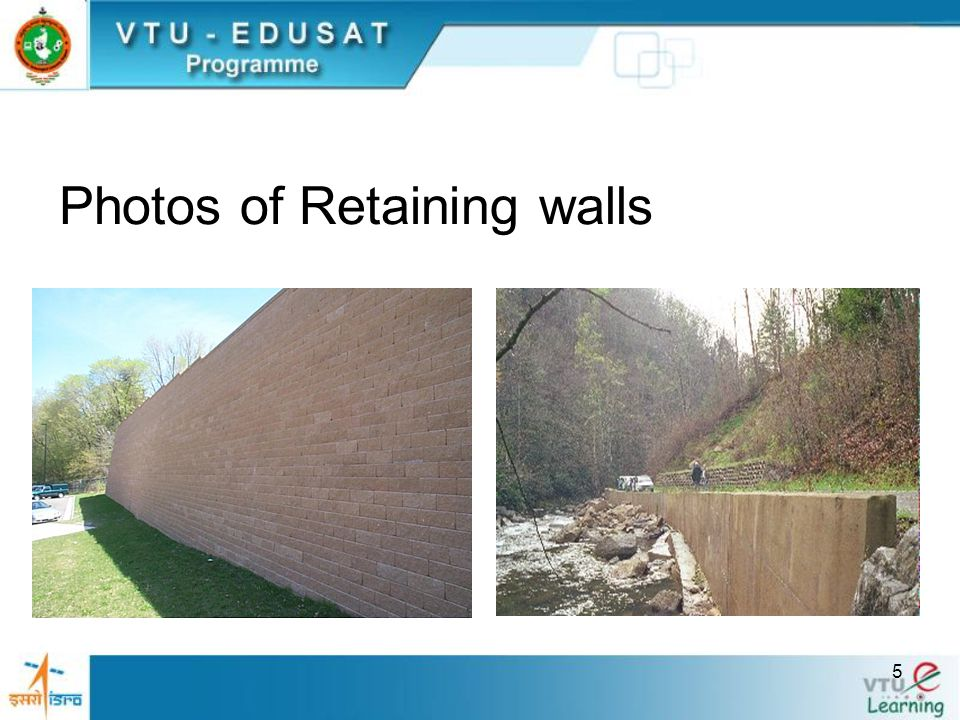 26 Design Example Cantilever retaining wall