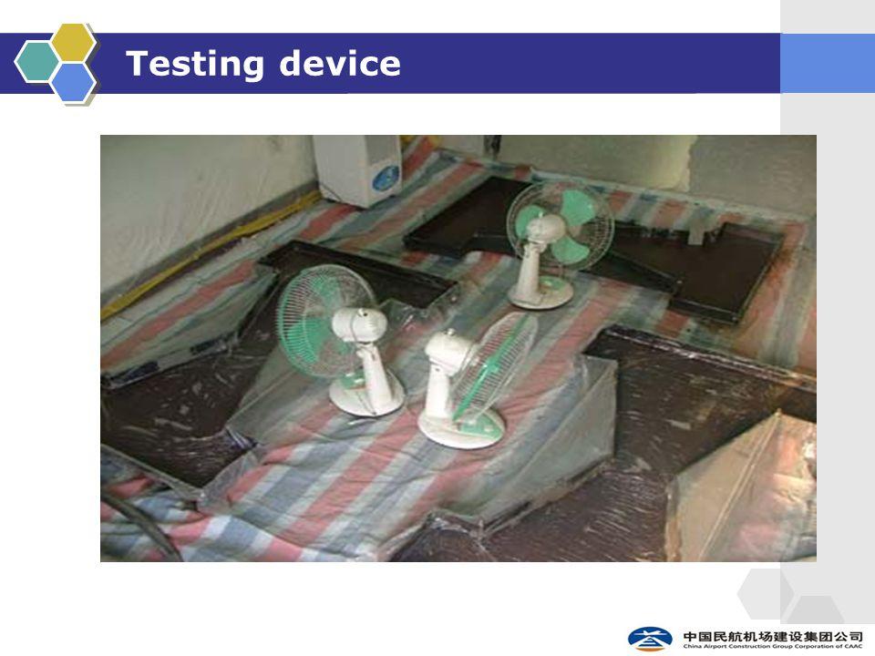 Testing device