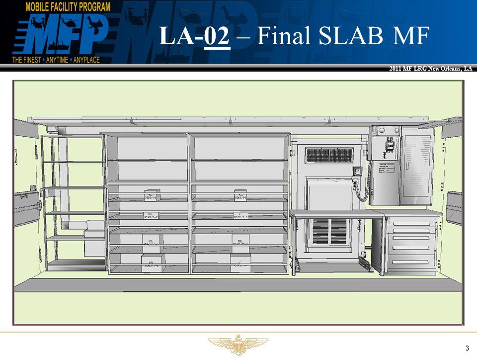 2011 MF LRG New Orleans, LA 3 LA-02 – Final SLAB MF