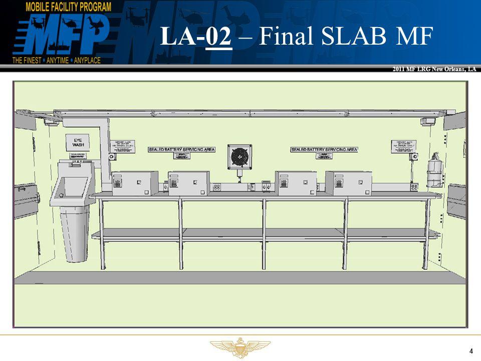 2011 MF LRG New Orleans, LA 4 LA-02 – Final SLAB MF