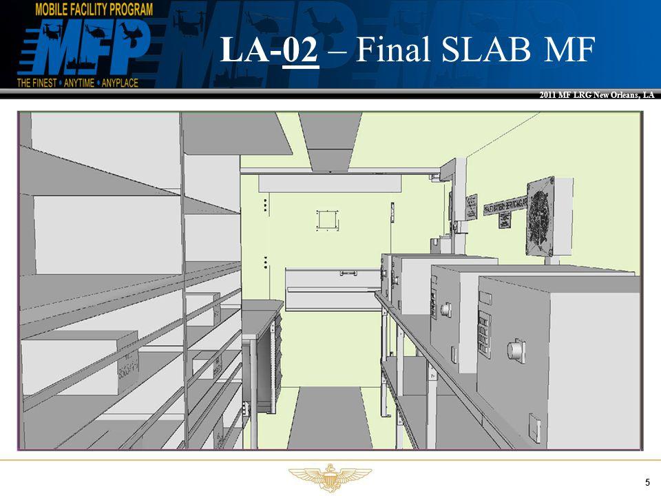 2011 MF LRG New Orleans, LA 5 LA-02 – Final SLAB MF