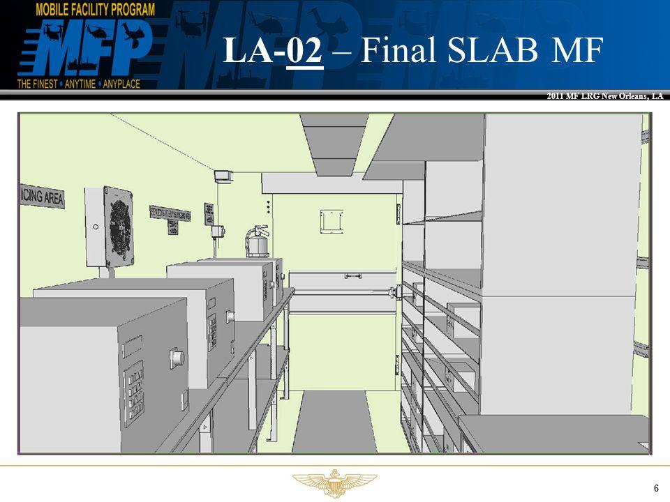 2011 MF LRG New Orleans, LA 6 LA-02 – Final SLAB MF