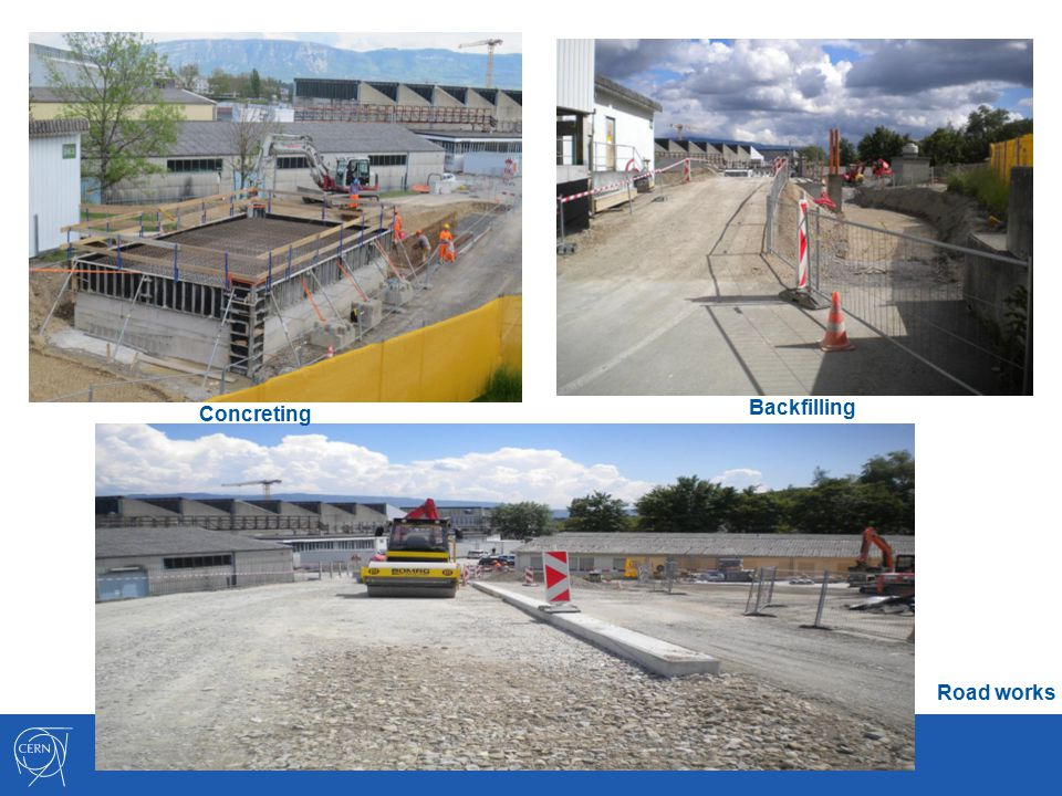 Concreting Road works Backfilling
